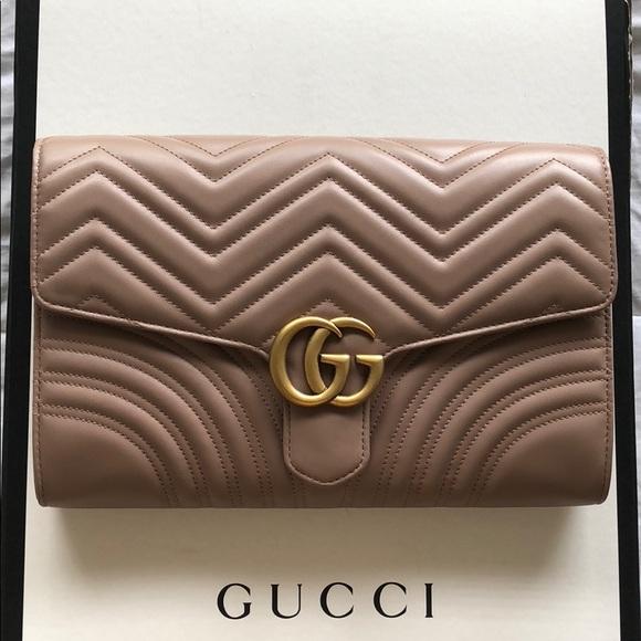 cadeb45f2267f6 Gucci Bags | Marmont Cluch | Poshmark
